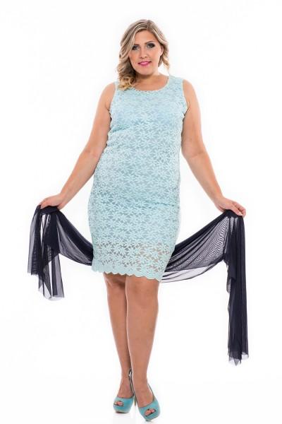 Csipke elegáns alkalmi ruha, ujjatlan ruha, ruha nagy méretben, molett ruha, magyar gyártás, nagykereskedelem.