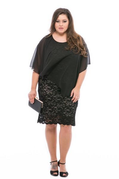 Csipke ruha alkalmakra nagy méretben