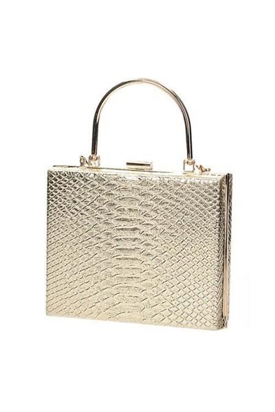 Alkalmi arany színű táska örömanyáknak csillogó