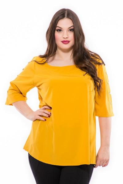 Moderné farby, s gombíkmi na rukávoch, tričko z ľahkého materiálu
