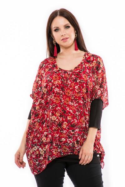 Muszlin felső, dundi divat, magyar gyártás, ruha webshop, nagykereskedés, xxl felső.