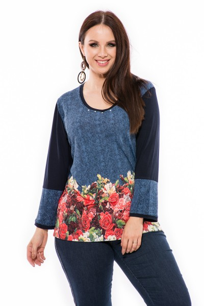 Téli pulcsi nagy méretben, ruha xxl webshop, magyar gyártás.