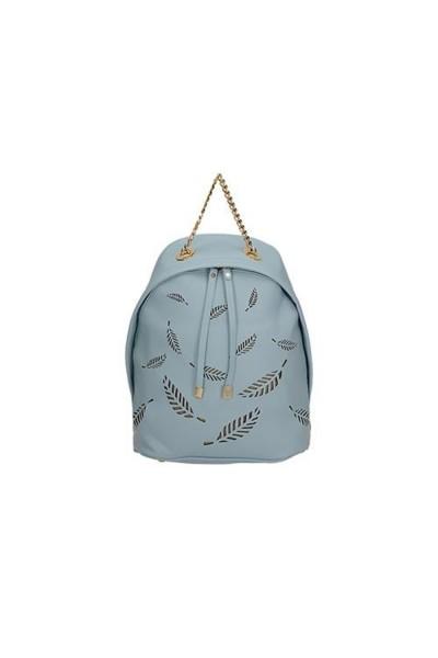 Tavaszi, háton is viselhető táska