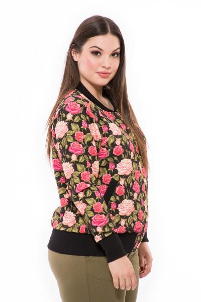 Tavaszi pamut, hosszú ujjú, cippes, egyedi, moletti női dzseki, kabát.