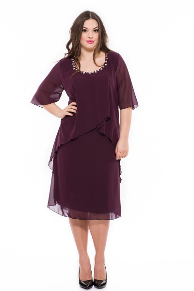 c541586738 Elegáns alkalmi ruha, örömanya ruha, elegáns öltözet, alkalmi muszlin ruha,  elegáns ruha
