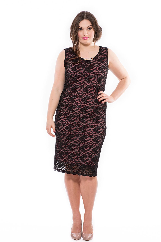 9090f8fc4a Csipke elegáns alkalmi ruha, ujjatlan ruha, ruha nagy méretben ...
