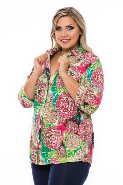 vzorovaná košeľa pre moletky