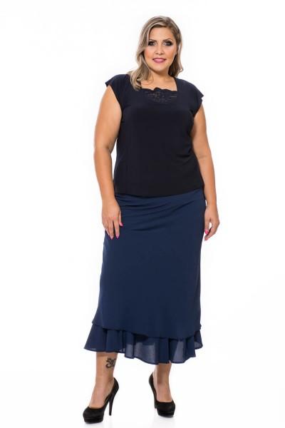 dlhá sukňa pre moletky