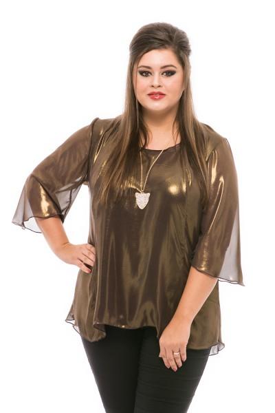 bluza eleganta de voal
