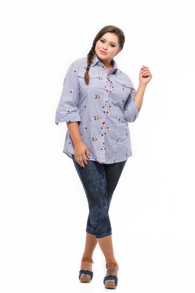 kvietkovaná košeľa pre moletky