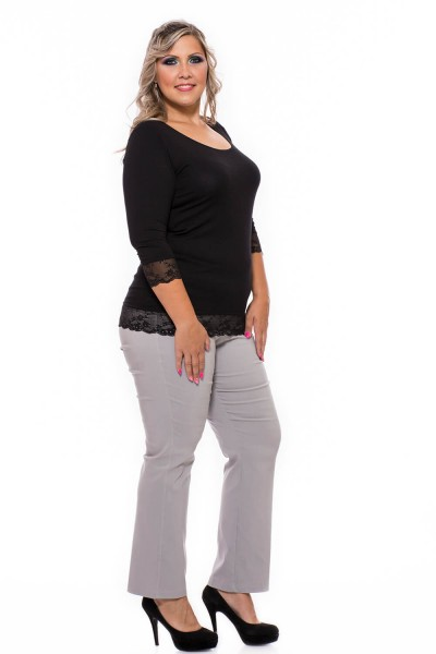 Lærke szabott vastag nadrág