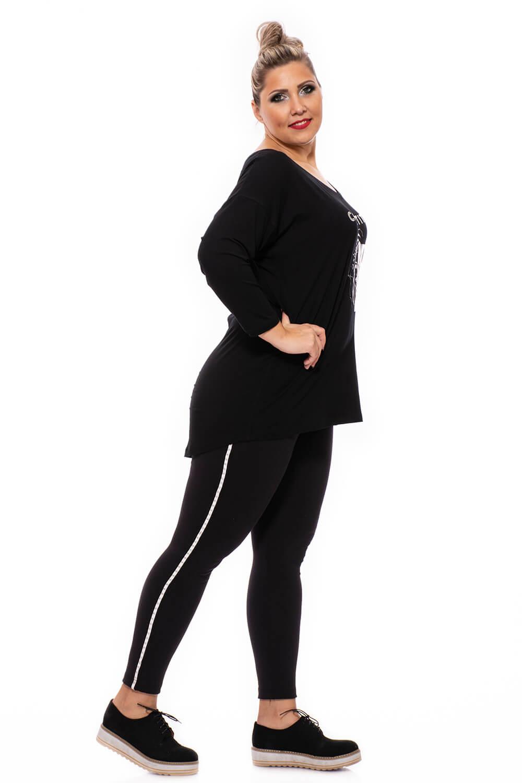 Női fekete őszi nadrág