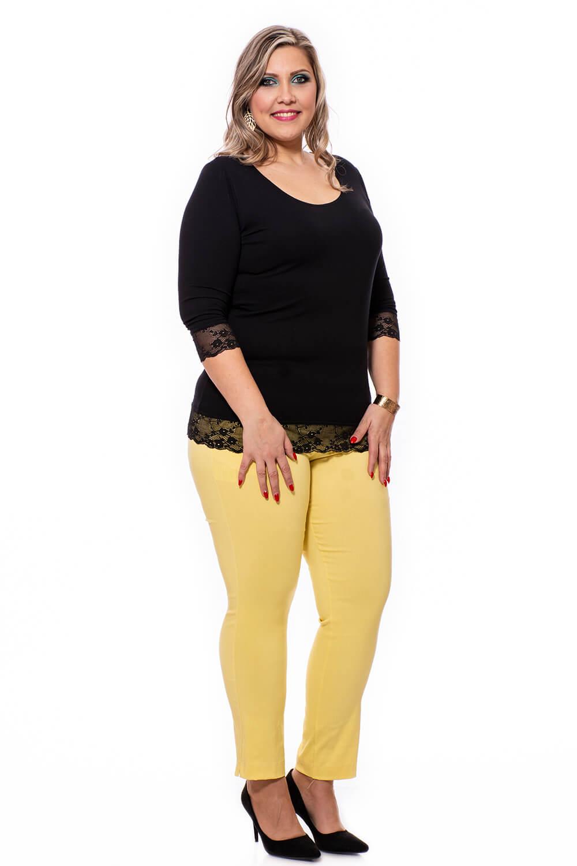 Pantaloni Lauretta model elastic