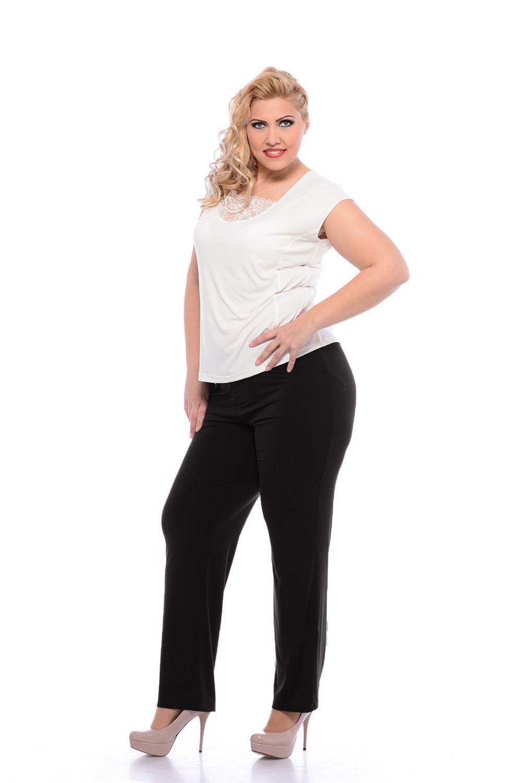 pantaloni elastici marimi mari