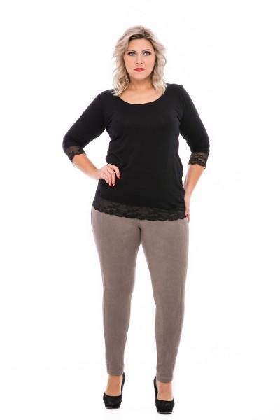 velúrové nohavice pre moletky