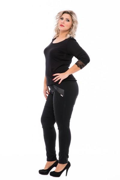 szűkszárú nadrág nagy méretben