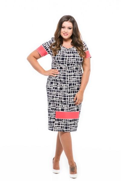 trendi divatos ruha molett hölgyeknek