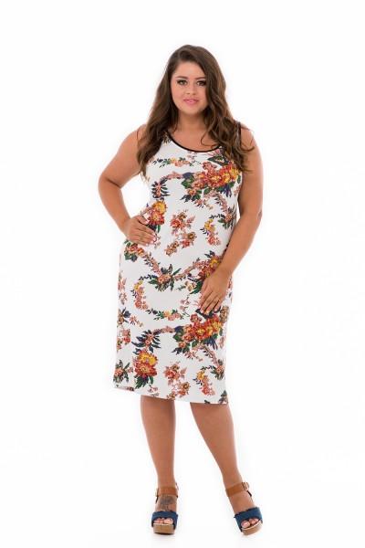 letné šaty pod kolená pre moletky