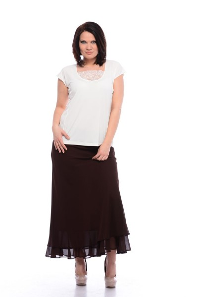 spoločenská sukňa pre moletky