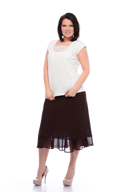 žoržetová sukňa pre moletky
