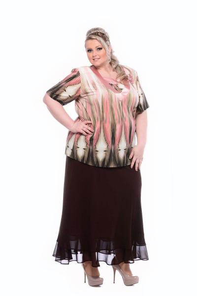 exkluzívna sukňa pre moletky
