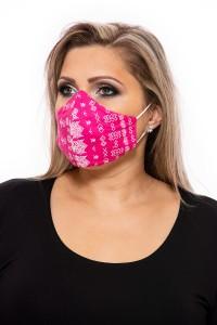 Pamut maszk rózsaszín