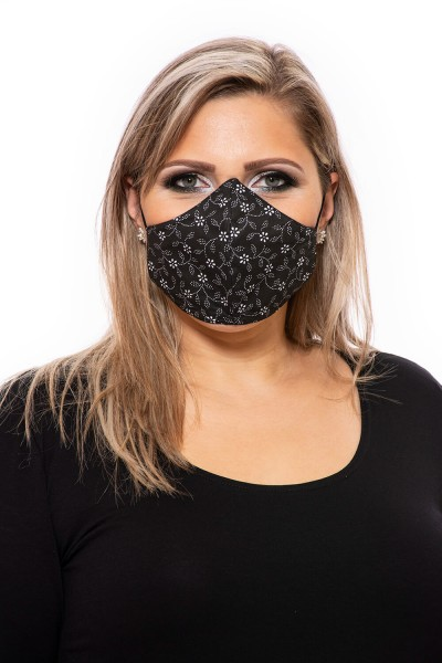 Mosható fekete maszk rendelés