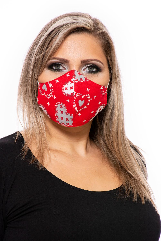Mintás mosható maszk olcsón