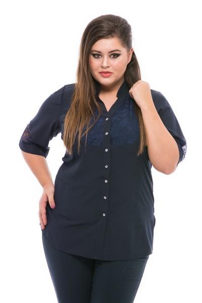 čierna košeľa pre moletky