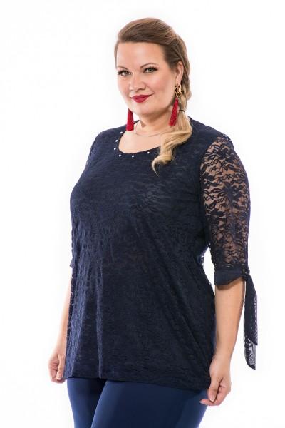 Csipke alkalmi felső, xxl divat, magyar alkalmi ruha gyártás, elegáns divat.