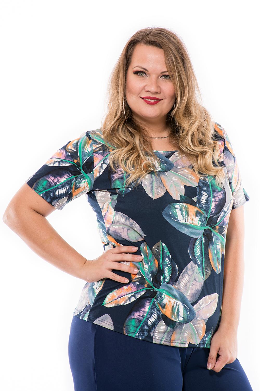 Moletti felső, mintás felső, rövid ujjú póló, csinos felső, ruha webshop.