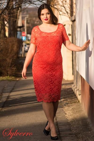72f7acab74 Csipke alkalmi fiatalos ruha, elegáns moletti ruha, csipke örömanya ruha.