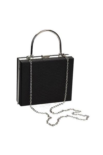 Fekete alkalmi táska esküvőre