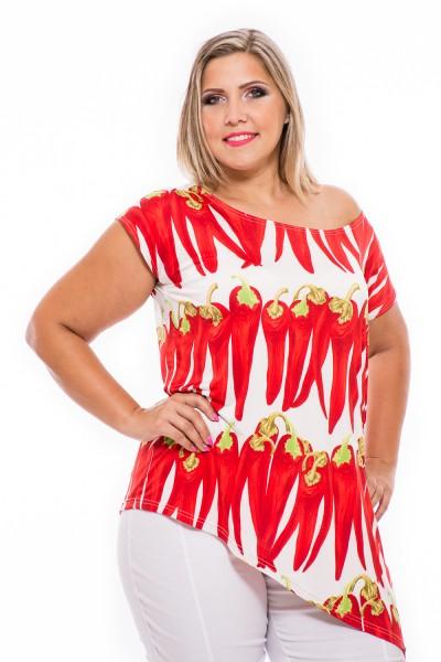 Letné tričko, móda pre moletky, webshop s oblečením, šaty online, xxl móda