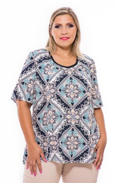 Letné voľné tričko, maďarská výroba, móda pre moletky, oblečenie online