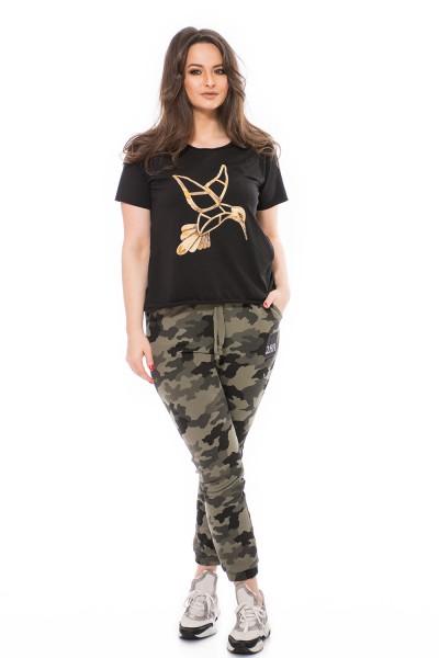Fiatalos nagy méretű póló, duci divat, xxl felső, divatos felső.