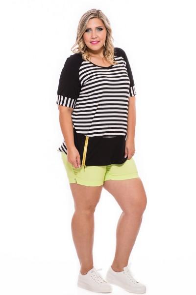 Elasztikus, nyári nadrág, rövid nadrág, xxl rövid nadrág.