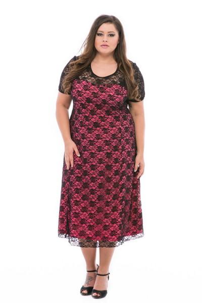 rochie de dantela marimi mari