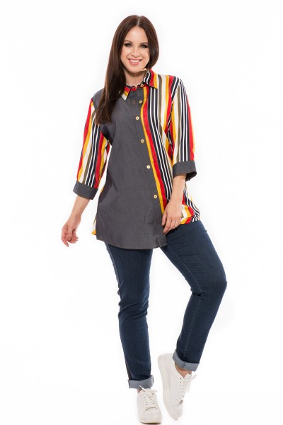Rifľová košeľa, xxl rifľová košeľa, webshop s oblečením