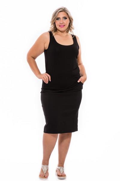 Sportos, elasztikus szoknya, ruha webshop, xxl szoknya, molett divat.