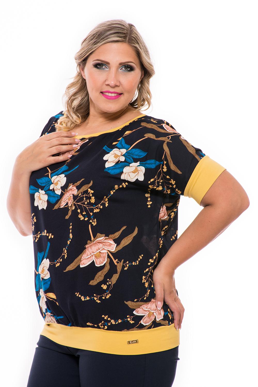 c77f1b8602 Pamut virágos xxl felső, molett divat, molett webshop, ruha webshop, online ruha  nagykereskedés.