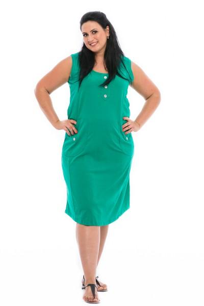 Nagy méretű pamut nyári ruha